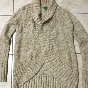 Splendid Cardigan Beige/Tan. Small Great Cond.